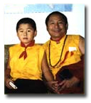 Pong Re Rinpoche and Ven. Choje Lama Shedrup